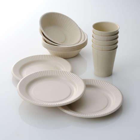 Reusable Bamboo Dishware