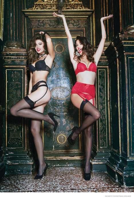 Burlesque Lingerie Campaigns
