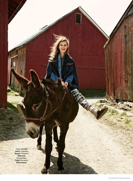 Feminine Farmgirl Editorials