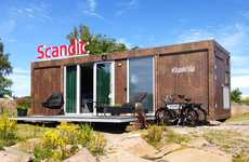 Mobile Hotel Rooms - The Scandic To Go Pop-Up Hotel Service Brings the Accommodations to You
