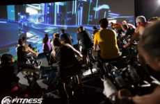 VR Spin Classes - 'The Trip' from 24 Hour Fitness and Les Mills Introduces Immersive Cycling
