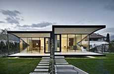 Camouflaged Glass Residences - These Mirrored Homes for Holiday Rental Blend into Their Surroundings