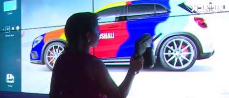 Virtual Car Graffiti