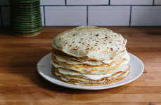 Hybrid Breakfast Desserts - The Food52 Crepe Cake Stacks Flapjacks High Atop One Another