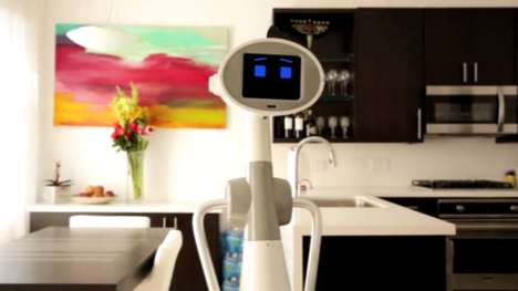 Capable Home Robots - Luna is an Intelligent Robot Designed for Practical Use in the Home