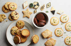 Festive Versatile Recipes - The Epicurious All-in-one Sugar Cookie Dough Accomodates Varying Treats