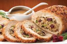 Vegan Holiday Roasts - Gardein's Vegetarian Holiday Savoury Stuffed Turk'y is Meatless