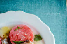 Summer Seafood Salads - This Fresh Summer Salad Recipe Mixes Watermelons and Seafood