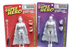 "Customizable Superhero Sets - The DIY 6"" Action Figure Kits Encourage Kids to Personalize Their Toys"