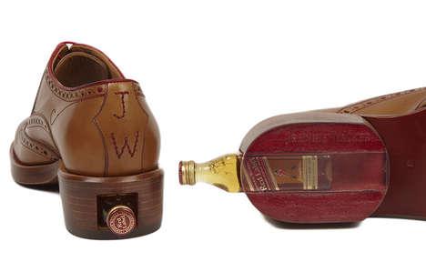Liquor-Loaded Dress Shoes