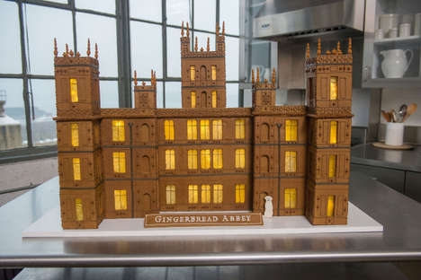Stately Gingerbread Castles