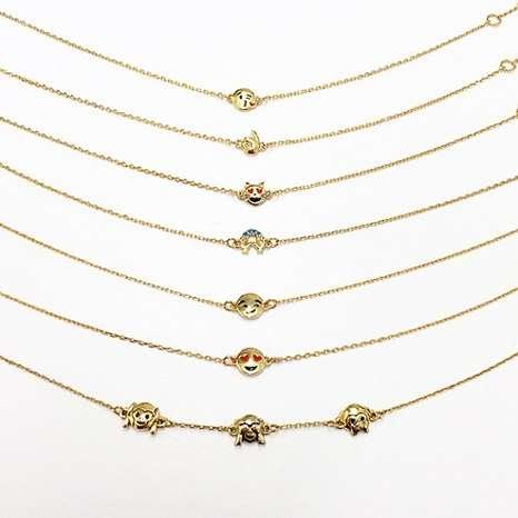 Emoticon Charm Bracelets