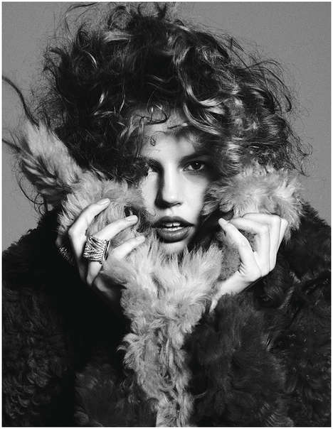 Curled Coif Editorials