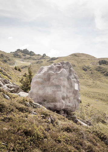 Crafty Camouflage Cabins - Antoine by Bureau A is an Alpine Cabin Cleverly Disguised as a Boulder