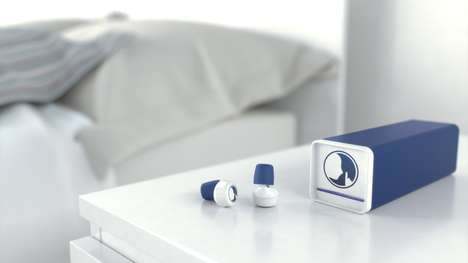 Connected Earplug Devices - The Hush Smart Earplugs can be Connected to Your Smartphone