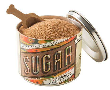 Cacao-Blended Sugar - This Mexican Chocolate Sugar is Ideal for Those Who Love Sweets