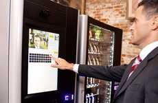 Junk-Refusing Vending Machines - These Healthy Snack Vending Machines Reference Your Medical Records