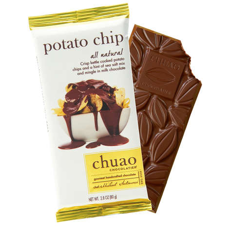 Chip-Infused Chocolates