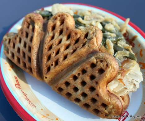 Tantalizing Turkey Waffles