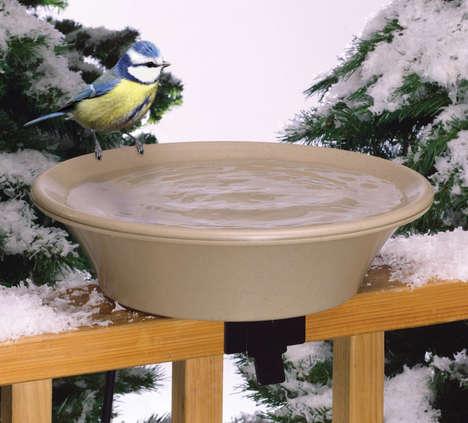 Cold Weather Bird Baths