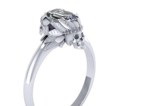 Luxe Skeletal Rings
