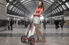 Folding Electric Scooters - The MUV-e Scooter Can Be Folded Up in Three Seconds