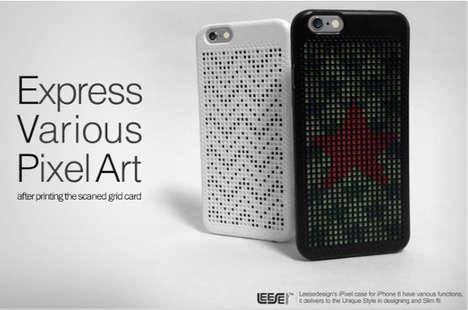 Custom Pointillism Phone Cases