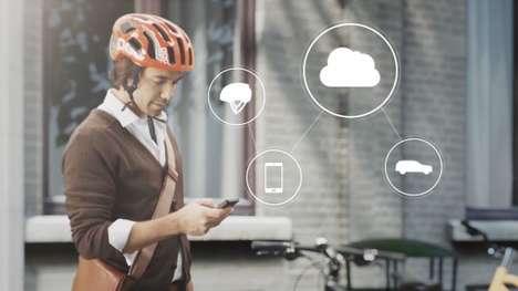 Car-Cyclist Communication Systems