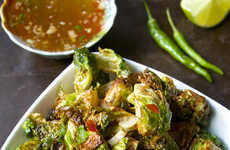 Crispy Thai Sprouts - These Crispy Brussels Sprouts Are Infused with Spicy Flavor