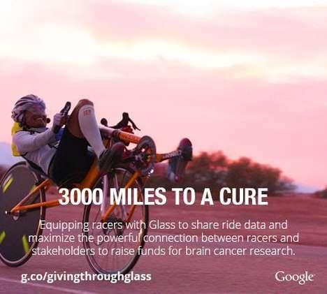 Charitable Journey-Sharing Glasses