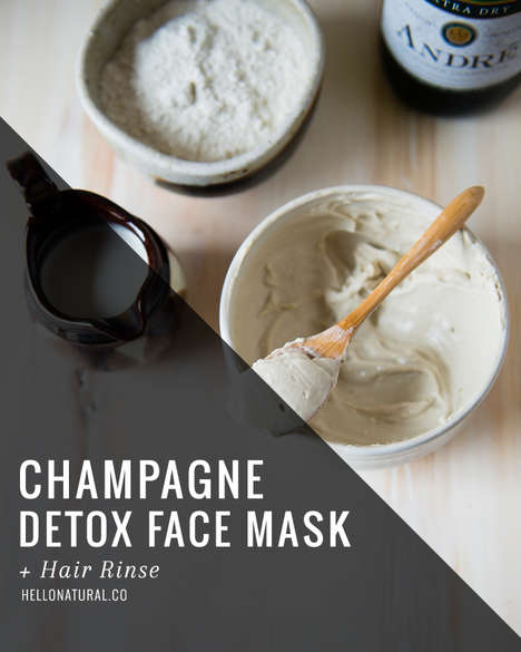 Champagne Face Masks