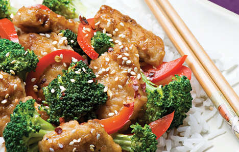 Meat-Free Mandarin Chicken