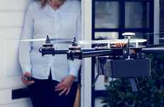 Mailman-Eliminating Drone Couriers - These On-Demand Delivery Drones Can Carry Items Up to 500 grams