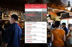Restaurant Server-Rating Apps - Unlike Other Restaurant Review Apps, Grate Focuses on Individuals
