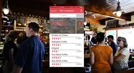 Restaurant Server-Rating Apps