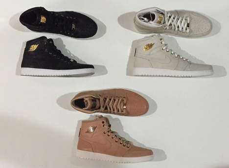 Monochromatic Plated Sneakers