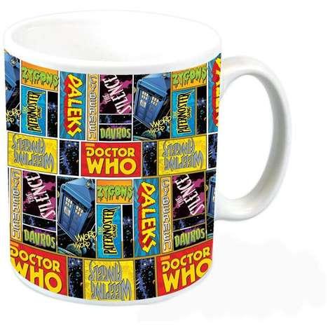 Galactic Comic Mugs