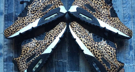 Platform Cheetah Sneakers