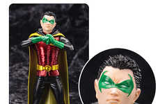 Sidekick Superhero Statues - This Robin Figurine Memorializes the Popular Boy Batman Hero