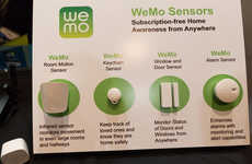 Wireless Home Sensors - The WeMo Smart Home Platform Unveils New Additions at CES