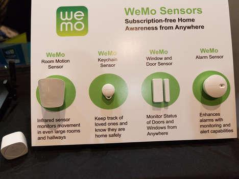 Wireless Home Sensors