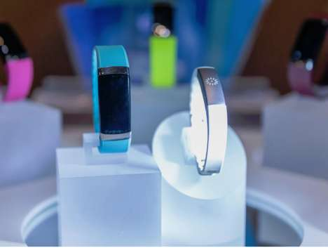 Intelligent Body Monitors - The InBody Band Features More Functions Than Typical Fitness Wearables