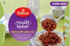 Microwaveable Bean Curries - Haldiram's Rajma With Jeera Rice is Delicious and Nutritious