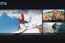 Exclusive POV Channels - The New GoPro App Engages LG Smart TV Owners with Special Video Access