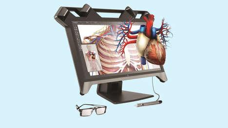 Interactive 3D Screens