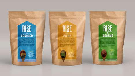 Uplifting Superfood Packaging