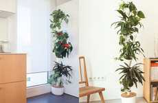Modular Hydroponic Planters - The Citysens System Enables You Grow an Indoor Vertical Garden