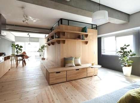 L-Shaped Apartment Partition Designs