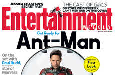 Tiny Superhero Posters - The Ant-Man Poster Stars a Very Small Paul Rudd in Costume