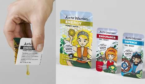 Anime Herb Packets